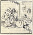Kunti telling about her fault to Her elder son.jpg