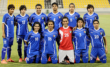 Kuwait women's national football team, 2012