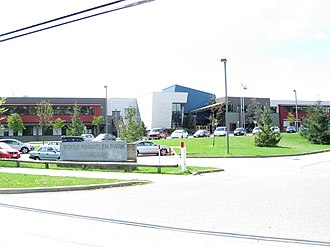 Kwantlen Park Secondary School - Image: Kwantlen Park Secondary (132 Street)