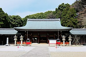 Kyoto Ryozen Gokoku Shrine - Kyoto Ryozen Gokoku Shrine