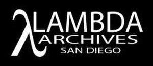 Lambda Archives of San Diego - Lambda Archives Logo