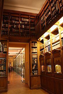 Photo de la bibliothèque-musée de l'Opéra.