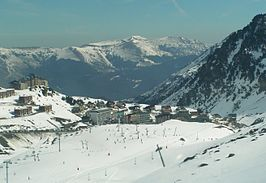 La Mongie ski resort - The village.jpg