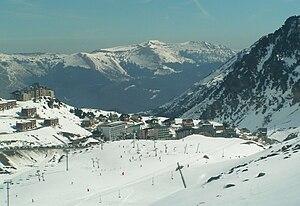 La Mongie - Image: La Mongie ski resort The village