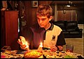 Lachlan's birthday cake candle lighting-1 (14790504254).jpg