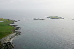 Lady's Holm and Little Holm from the air - geograph.org.uk - 1842660.jpg