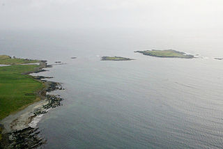 Little Holm, Dunrossness island in the parish of Dunrossness