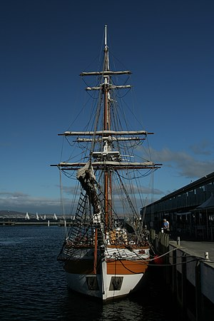 HMS Lady Nelson (1798) - Replica of the Lady Nelson in Hobart