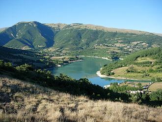 Fiastra - Lake of Fiastra.