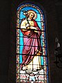 Lailly-en-Val (Loiret) Église, vitrail 05.JPG