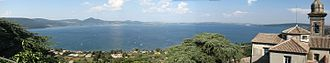 Castello Orsini-Odescalchi - View of Lake Bracciano from Castello Orsini-Odescalchi.