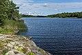 Lake Gisslaren, hiking trail Upplandsleden, Sweden 18.jpg