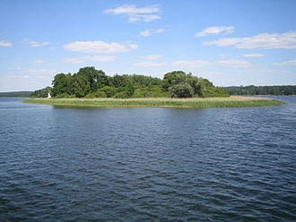 Ukrians - Burgwallinsel, a former Ukrian burgh on an isle in Lake Oberuckersee