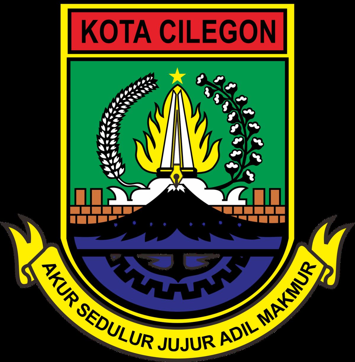 File Lambang Kota Cilegon Png Wikimedia Commons