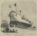 Lançamento ao mar da canhoneira «D. Luiz» - O Occidente (25Jul1895).png