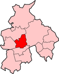 Shown within Lancashire