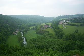 Morvan - Typical landscape in the Morvan
