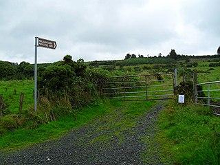 Mullyash Kerbed Cairn Barrow in Ireland