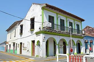 Tlacotalpan - View of the Agustín Lara House Museum