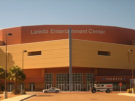Laredo Entertainment Center, Laredo, TX IMG 2019.JPG