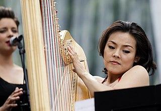Lavinia Meijer Dutch harpist