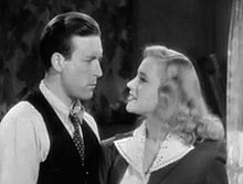 Lawrence Tierney-Anne Jeffreys in Dillinger trailer.jpg