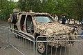 Lešany, vojenské muzeum, pouštní automobil Toyota Hilux D-4D.JPG