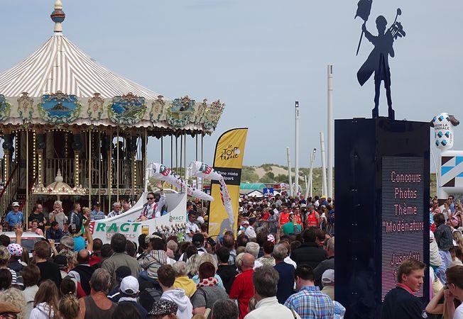 Le Touquet-Paris-Plage - Tour de France, étape 4, 8 juillet 2014, départ (A34).JPG