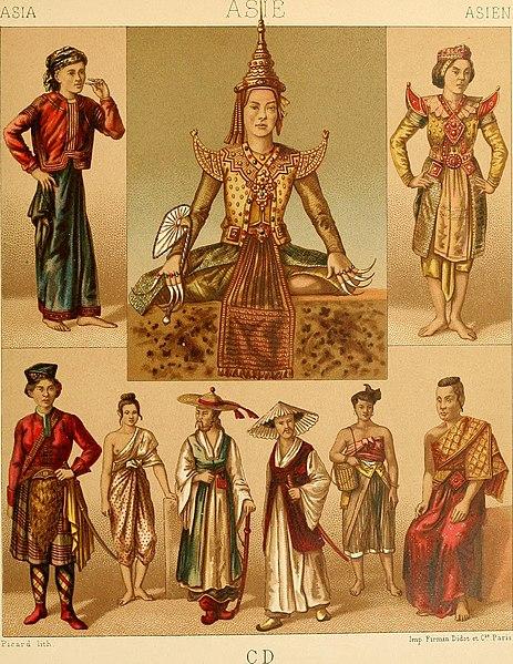 File:Le costume historique. Cinq cents planches, trois cents en couleurs, or et argent, deux cents en camaieu. Types principaux du vêtement et de la parure, rapprochés de ceux de l'intérieur de (14741066296).jpg