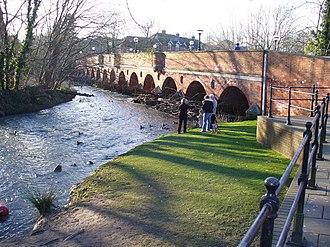 Leatherhead - Leatherhead Town Bridge