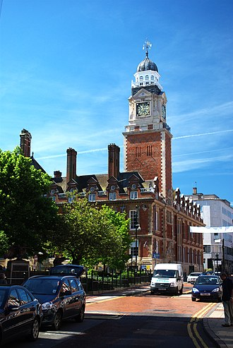 Leicester City Council - Leicester Town Hall tower