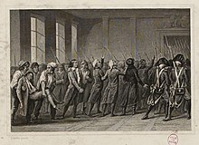 Arrest of the Girondins in the Convention on 2 June 1793