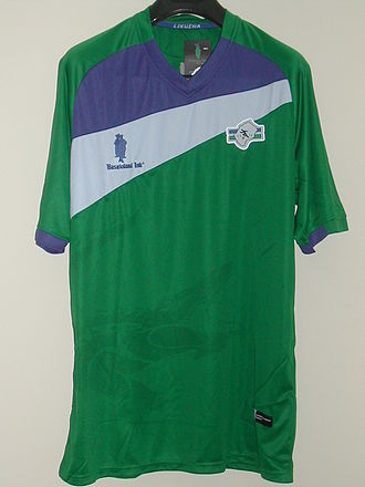 Basutoland Ink - Official Lesotho home shirt from 2012 made by Basutoland Ink.