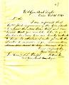 Letter from A. Walke, U. S. S. Taylor, Cairo, Illinois, to Seth Ledyard Phelps, U. S. S. Conestoga, October 31, 1861.jpg