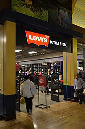 A Levi s outlet store in Vaughan Mills c7f0546e6