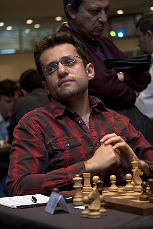 Levon Aronian - Aronian at the 2011 European Team Chess Championships in Athens