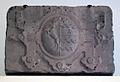 Liège, Grand Curtius. Pierre aux armes de Jean Curtius (ancien couvent des Capucins de Hocheporte, 17e siècle).JPG