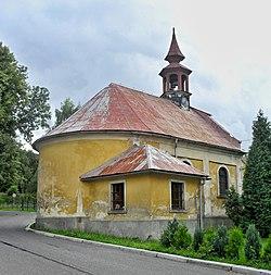 Závěr kostela sv. Vojtěcha v Ostašově