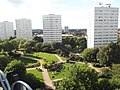 Library of Birmingham - Discovery Terrace - City Centre Gardens - Civic Centre Towers (9904320166).jpg