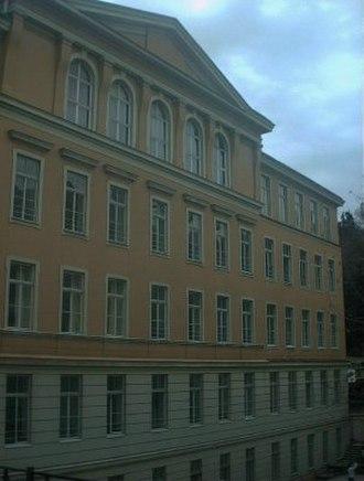 Liceo Italiano di Istanbul - The front facade of the school building