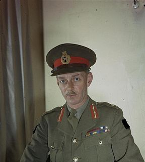 Miles Dempsey British army officer