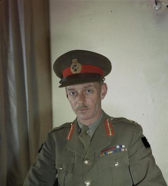 Miles Dempsey - Lieutenant General Miles Dempsey in April 1944