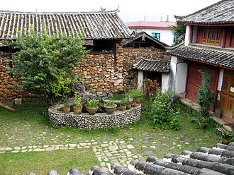 Joseph Rock - Joseph Rock's house in Yuhu Village, Lijiang.