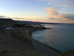 San Jorge Gulf - Image: Limite con zona norte