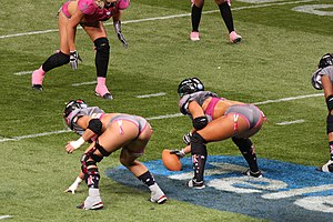 Legends Football League - All-Fantasy Game in Sydney, 2012