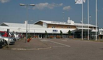 Linköping/Saab Airport - Image: Linköping Airport