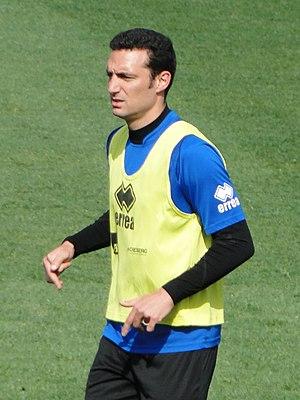 Lionel Scaloni - Scaloni training with Atalanta in 2014