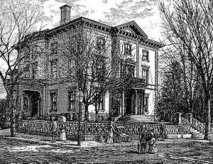 Henry Lippitt - Lippitt House in 1886