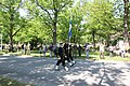 Lippujuhlan päivän paraati 2013 01 Suomen lippu.JPG