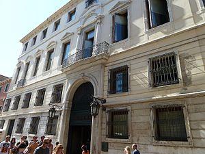 Sceriman family - The Palazzo Zeno Manin Sceriman in Venice
